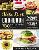 Keto Diet Cookbook  2020 Book