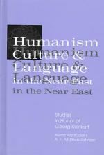 Humanism, Culture, and Language in the Near East