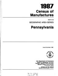 Census of Manufactures  Geographic Area Series PDF