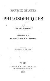 Nouveaux Mélanges Philosophiques