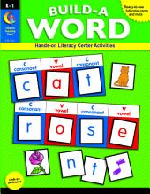 Build-a-Word, eBook: Hands-on Literacy Center Activities