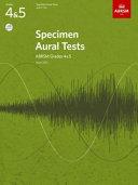 Specimen Aural Tests