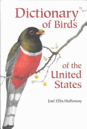 Dictionary of Birds of the United States PDF