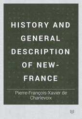 History and General Description of New-France