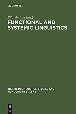 Functional and Systemic Linguistics PDF