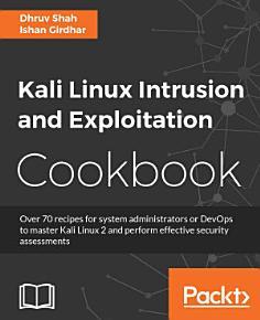 Kali Linux Intrusion and Exploitation Cookbook PDF