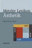 Metzler Lexikon   sthetik PDF