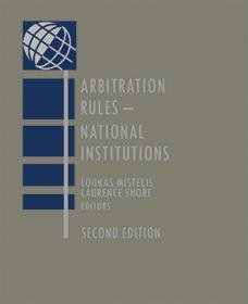 Arbitration Rules National Institutions 2nd Edition PDF