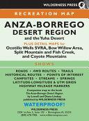 Anza-borrego Desert Region Map
