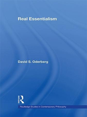 Real Essentialism PDF