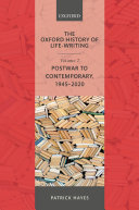 The Oxford History of Life-Writing