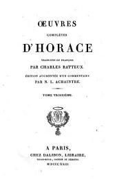 Oeuvres Completes D'Horace