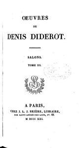 Œuvres de Denis Diderot: Salons