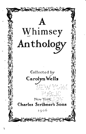 A Whimsey Anthology