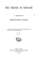 The Theory of Thought PDF