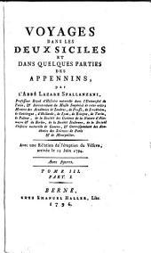 Voyages dans les deux Siciles et dans quelques parties des Apennins: Volumes 3-4