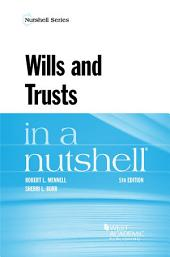 Wills and Trusts in a Nutshell: Edition 5