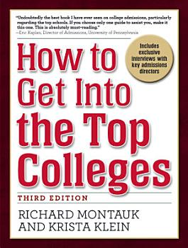 How to Get Into the Top Colleges  3rd ed PDF
