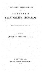 Systema vegetabilium: Tentamen supplementi ad systematis vegetabilium Linnaeani editionem decimam sextam, Volume 6