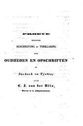 Proeve eener beschrijving en verklaring der oudheden en opschriften op Soekoeh en Tjetto