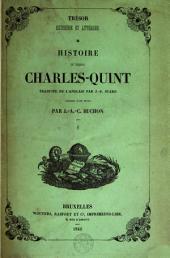 Histoire de l'empereur Charles-Quint: Volume 1
