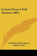 Letters from a Sufi Teacher