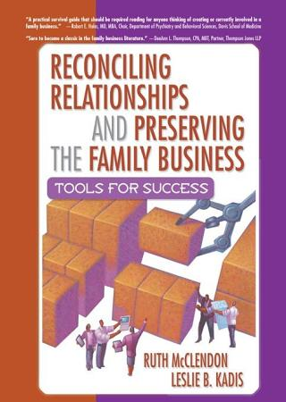 Reconciling Relationships and Preserving the Family Business PDF