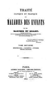 Traité clinique et pratique des maladies des enfants: Volume2