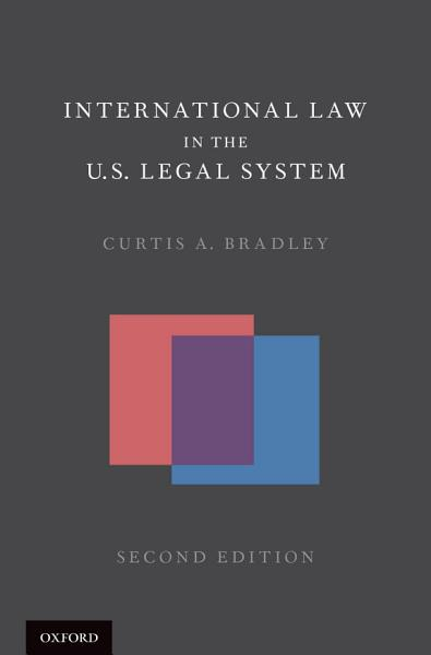 International Law in the U S  Legal System