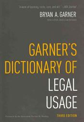 Garner S Dictionary Of Legal Usage Book PDF