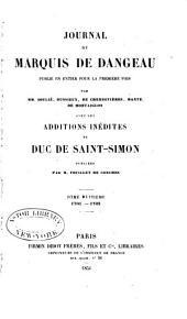 Journal du marquis de Dageneau: 1701-1702