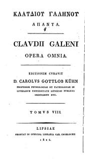 Opera omnia: Τόμος 8