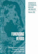 Fumonisins in Food
