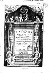 Les raisons des forces mouvantes... par Salomon de Caus