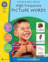 High Frequency Picture Words Gr  PK 2 PDF
