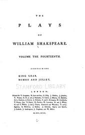 The Plays of William Shakspeare: In Fifteen Volumes. With the Corrections and Illustrations of Various Commentators. To which are Added Notes, Volume 14