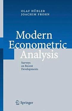 Modern Econometric Analysis PDF