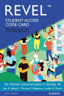 Revel    Access Card    For Human Communication in Society PDF