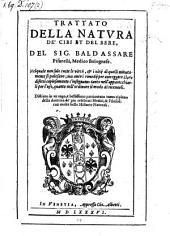 Trattato della natura de'cibi et des bere