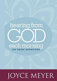 Hearing from God Each Morning Book
