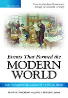Events That Formed the Modern World  From the European Renaissance through the War on Terror  5 volumes  PDF