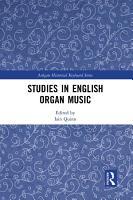 Studies in English Organ Music PDF