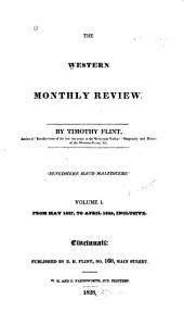 The Western Monthly Review: Volume 1