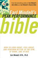 Earl Mindell s Peak Performance Bible PDF