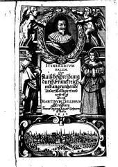 Itinerarium Galliae et magnae Britanniae: Band 1