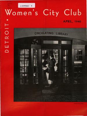 Magazine of the Women's City Club