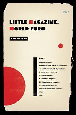 Little Magazine  World Form PDF