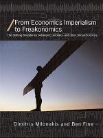 From Economics Imperialism to Freakonomics
