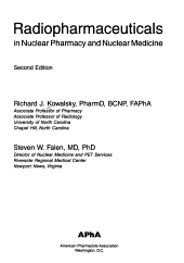 Radiopharmaceuticals in Nuclear Pharmacy and Nuclear Medicine PDF