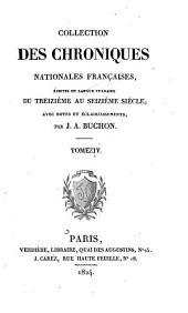 Chroniques de Froissart: Volume4